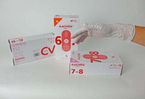 gants en vinyle synthétique