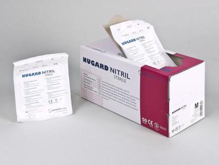 Gants d´examen de nitrile stériles - Nugard