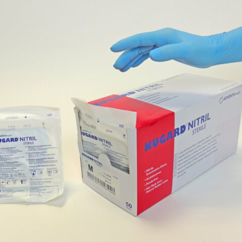 gants stériles en nitrile