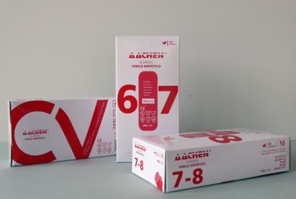 Gant Vinylesynthétique couleur blanche- Aachen